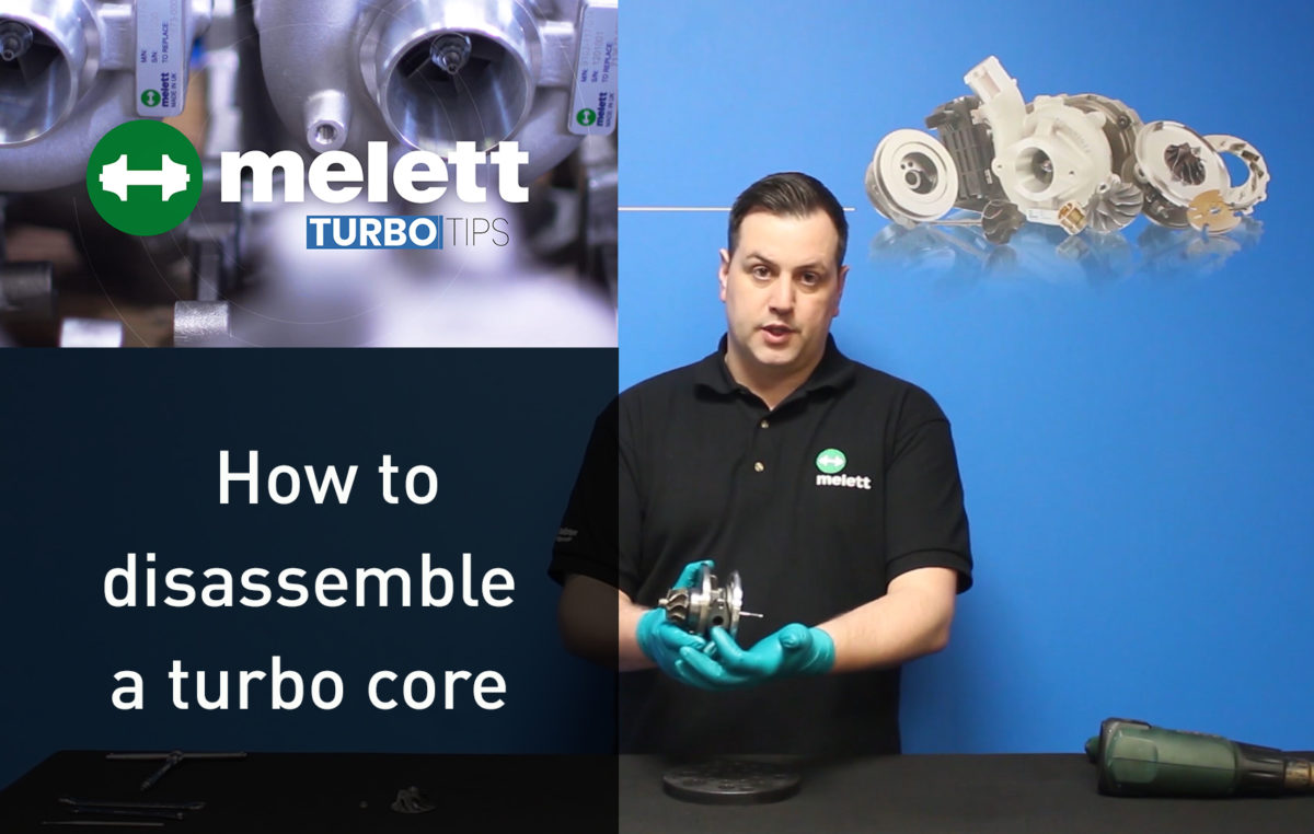 How to Disassemble a Turbo Core – Turbo Tips Video
